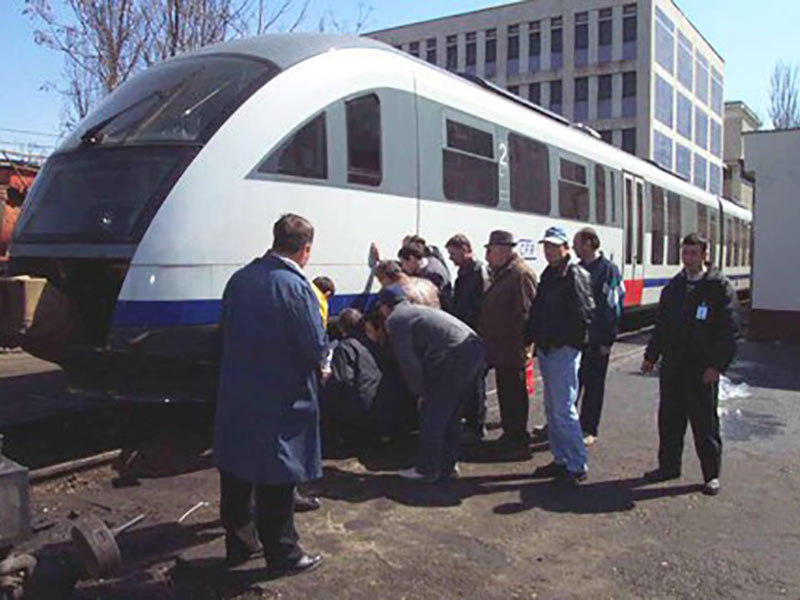 Training courses brake technology for rail vehicles